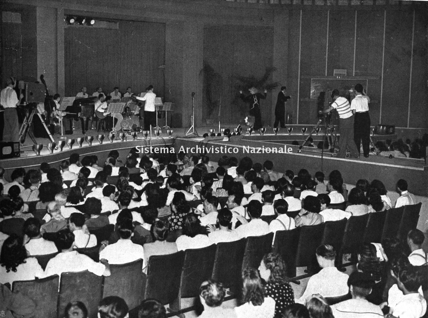 Fiera Campionaria, auditorium, Milano 1947