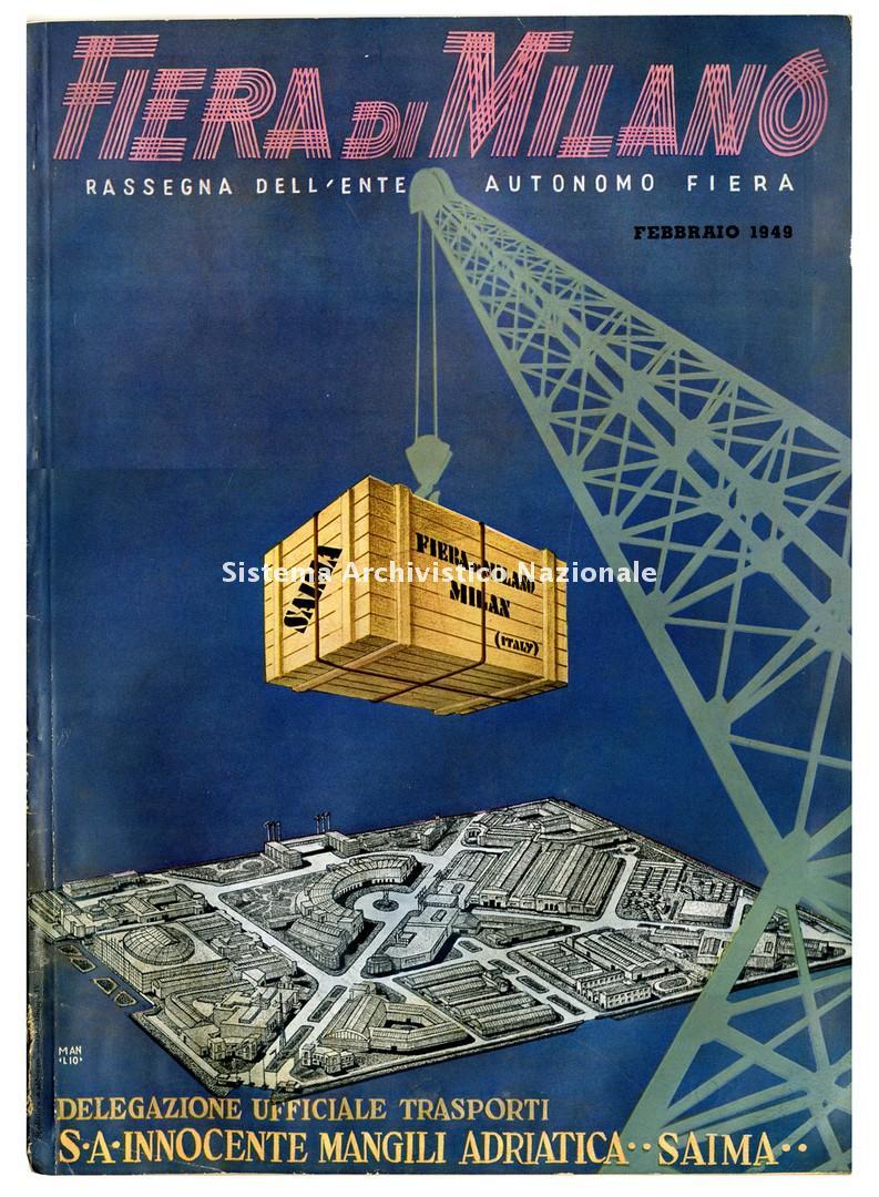 Fiera Campionaria, rivista, 1949