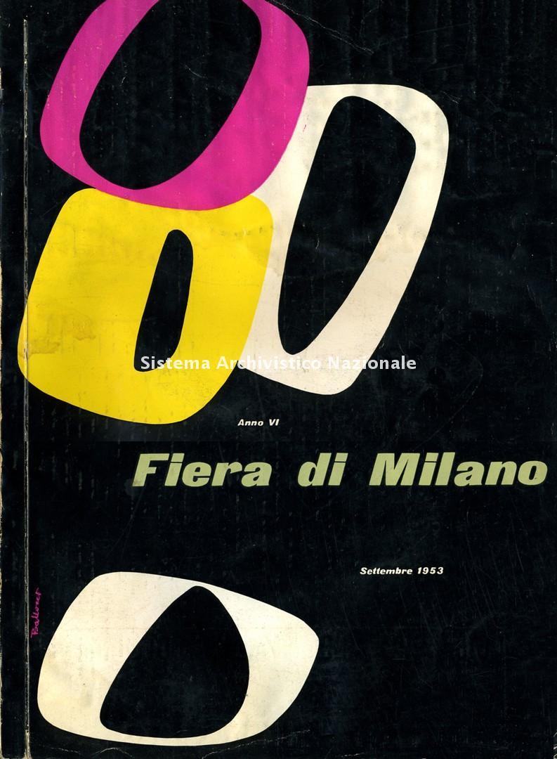 Fiera Campionaria, rivista, 1953