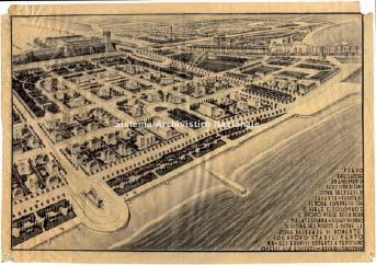 Emidio Ciucci, Piano regolatore e di ampliamento della città di Fano, 1935