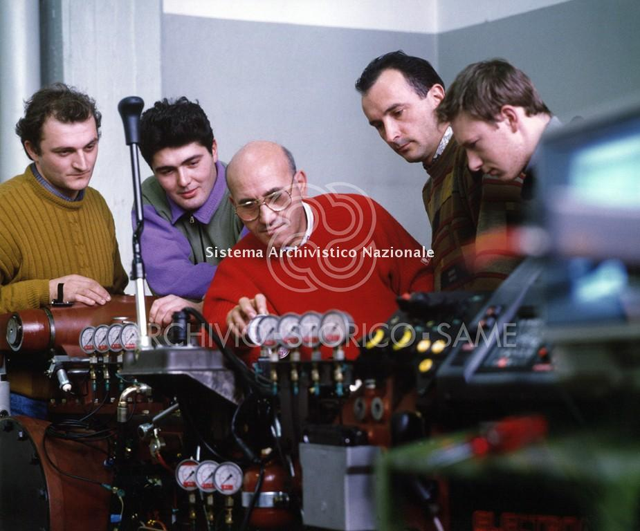 Corso per meccanici SAME, Treviglio 1994