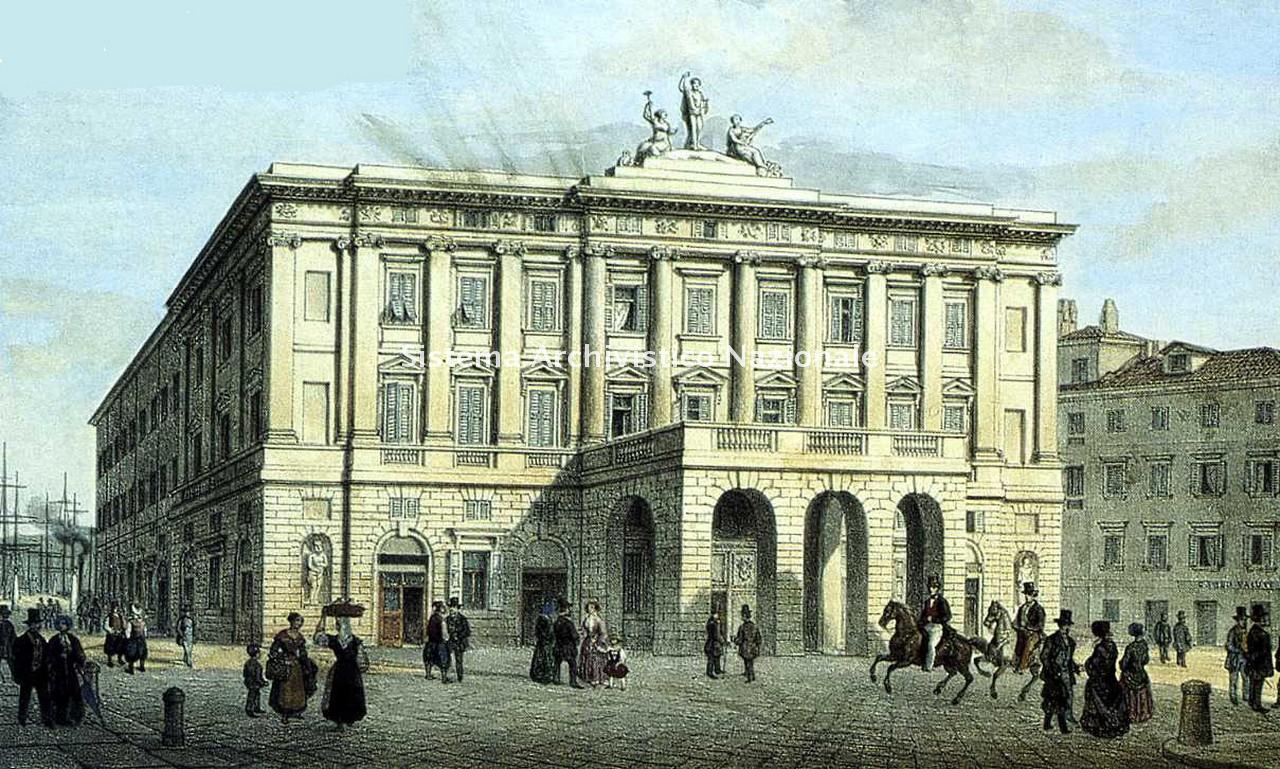 Louis Hoffmeister, Teatro Grande, Trieste 1840