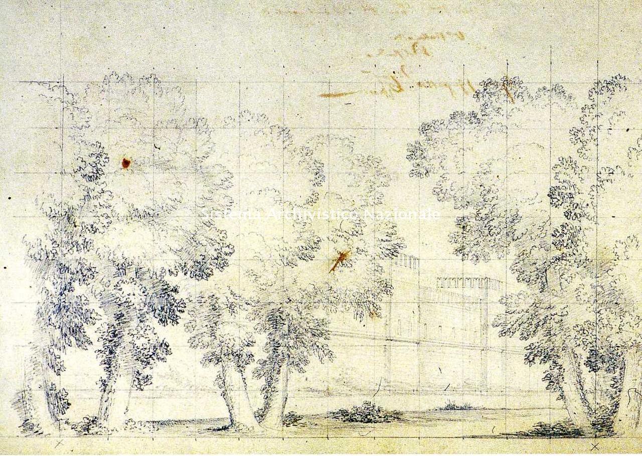 Marco Moro, bozzetto per La battaglia di Legnano, 1850