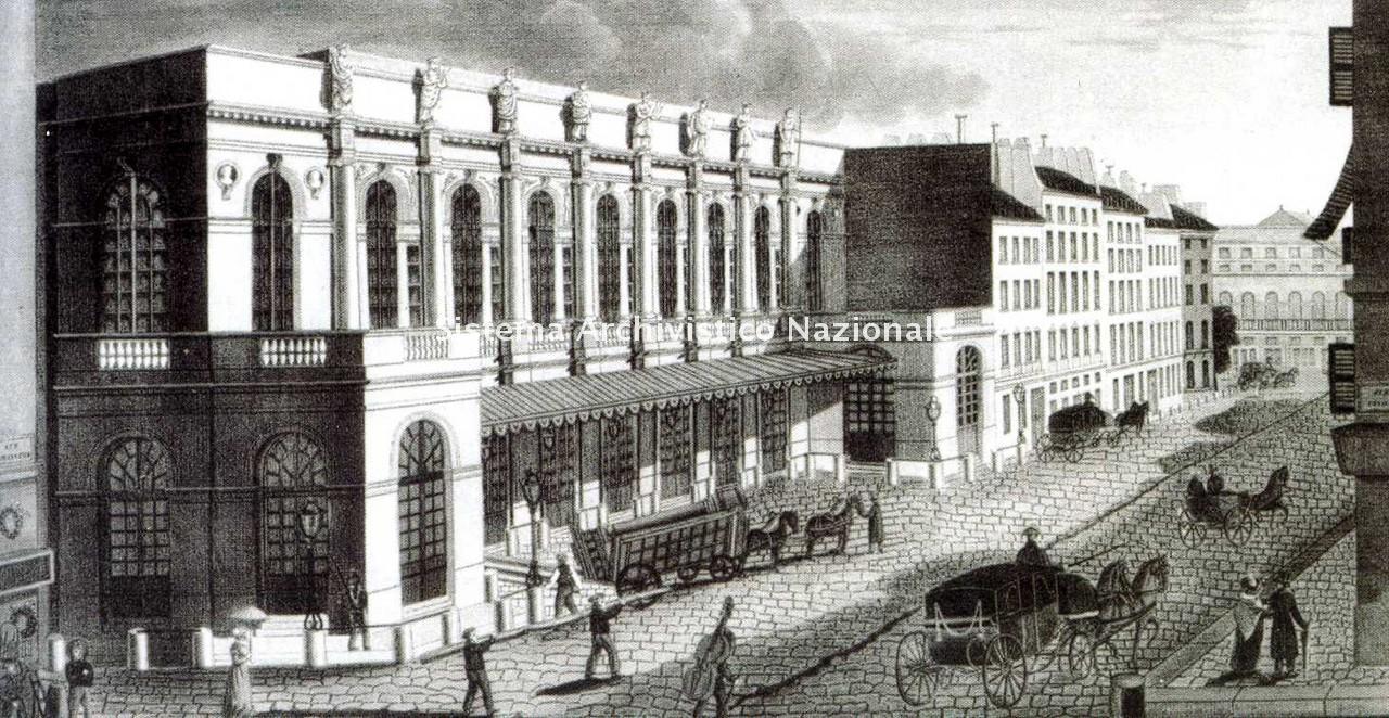 Théodore Rousseau e Courvoisier, Il Théâtre de l'Opéra di Parigi, 1840