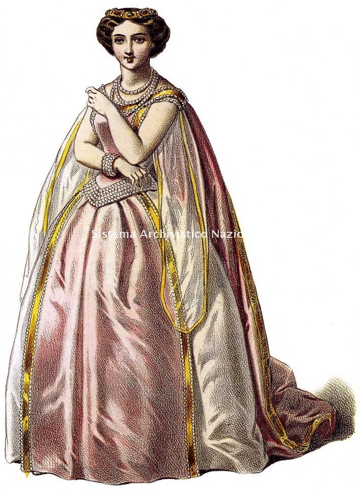 Sofia Cruvelli (Sophie Crüwell), soprano, 1855