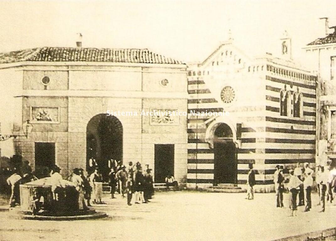 Sede della ditta tessile Rubelli, Venezia inizio sec. XX