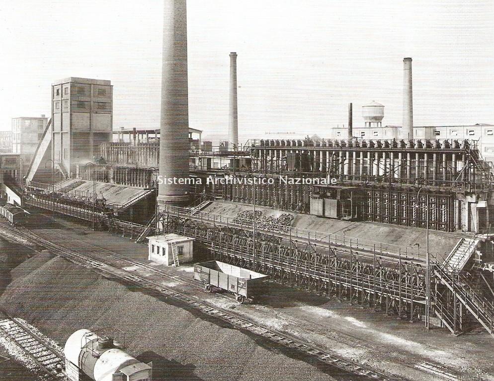 Forni per la produzione di coke, Venezia 1930-1932