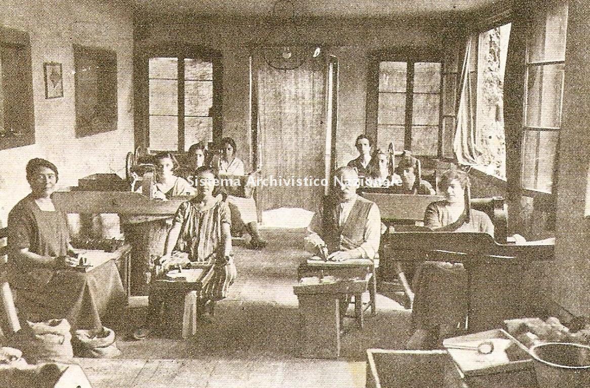 Laboratorio Orsoni di mosaici artistici, Venezia 1920 ca.