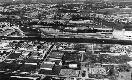 Veduta aerea dello stabilimento Montefibre di Port...