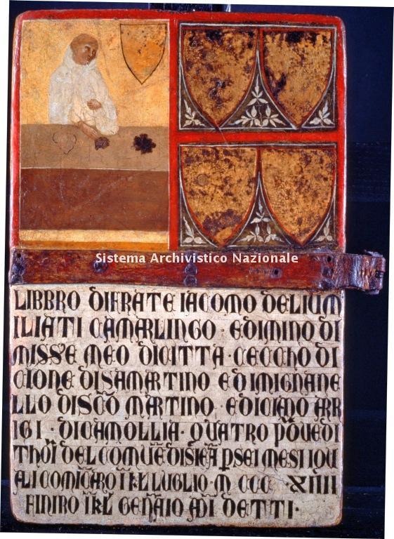 0010. Archivio di Stato di SIENA. Collezione delle Tavolette di Biccherna. Inv. n. 10