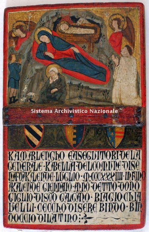 00014. Archivio di Stato di SIENA. Collezione delle Tavolette di Biccherna (ex Gabella). Inv. n. 14