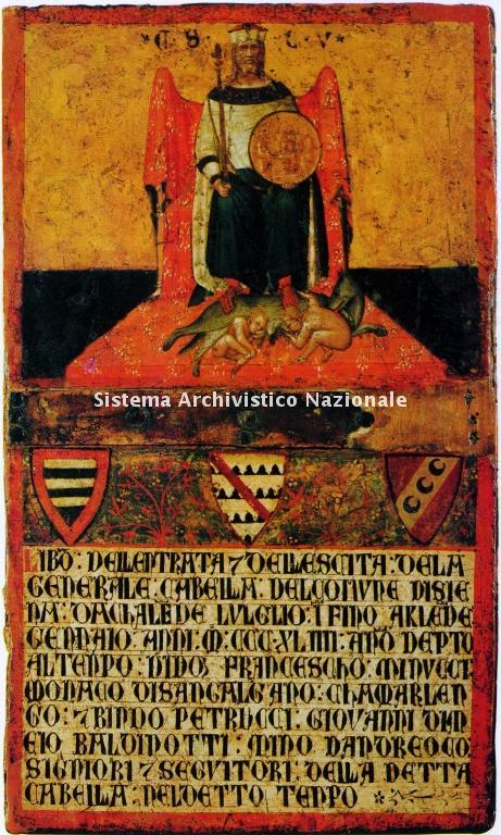 00016. Archivio di Stato di SIENA. Collezione delle Tavolette di Biccherna (ex Gabella). Inv. n. 16