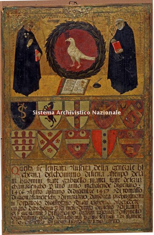 0031. Archivio di Stato di SIENA. Collezione delle Tavolette di Biccherna. Inv. n. 31
