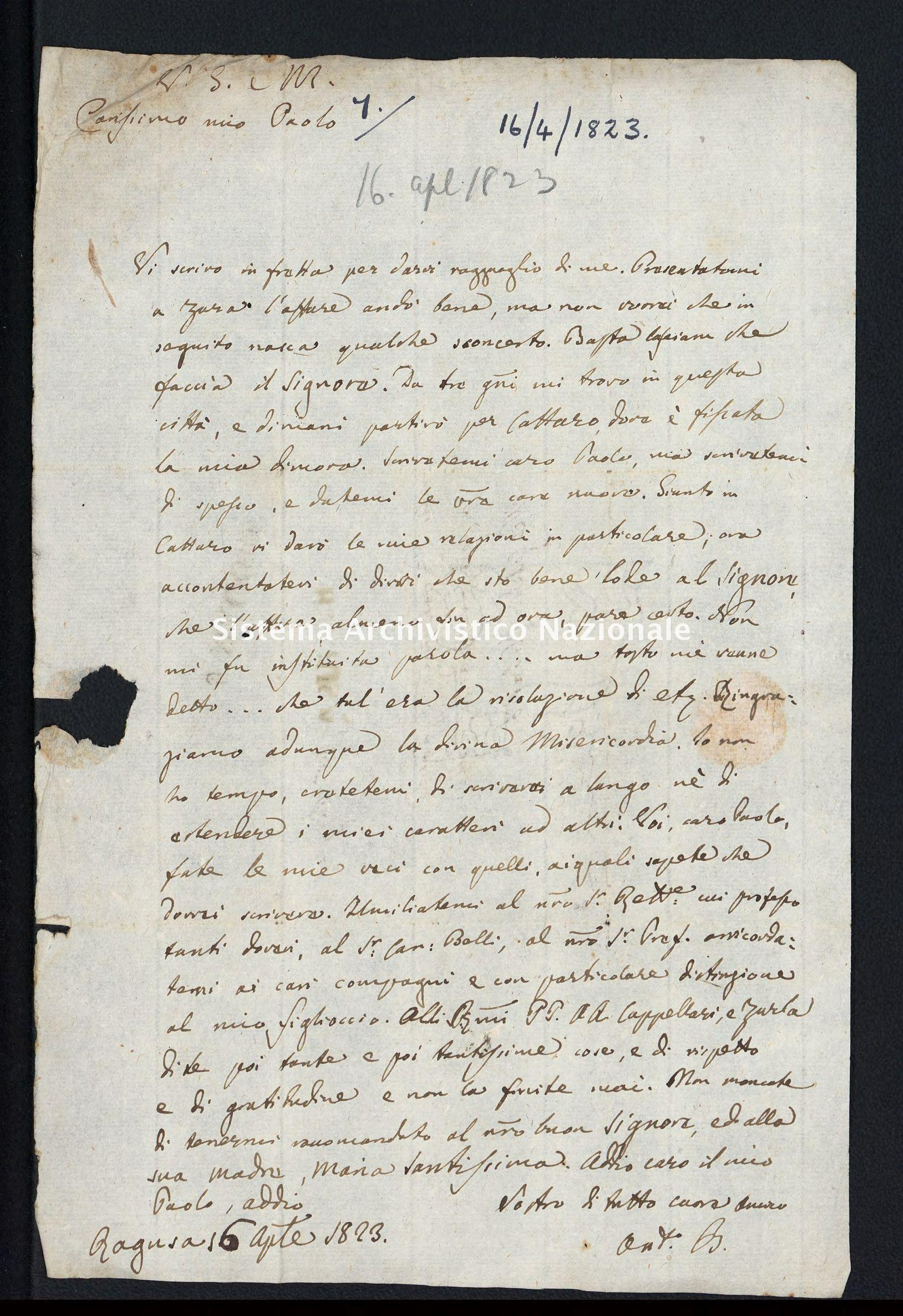 Pontificio Collegio Irlandese - Cullen_1823_7