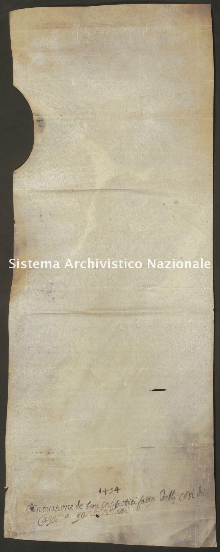 032. Carpegna Falconieri Gabrielli, Scavolino pergamena n. 32v