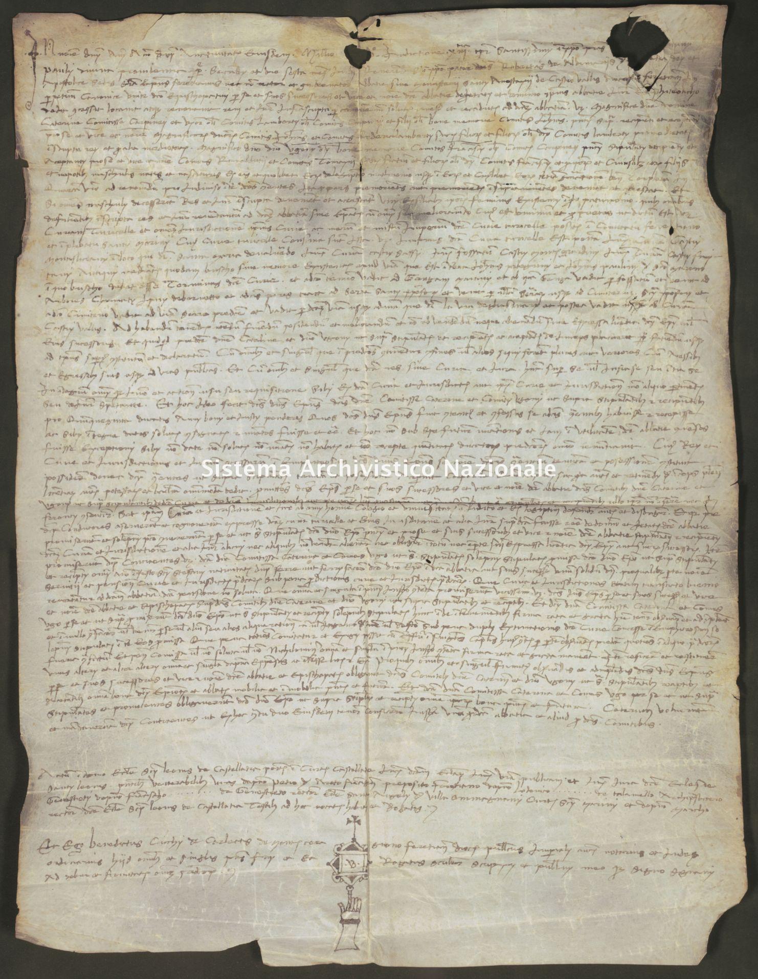036. Carpegna Falconieri Gabrielli, Scavolino, pergamena n. 36r