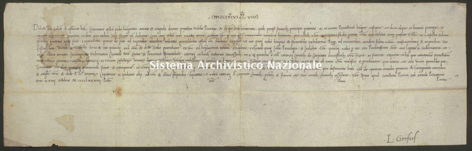 040. Carpegna Falconieri Gabrielli, Scavolino, pergamena n. 40r