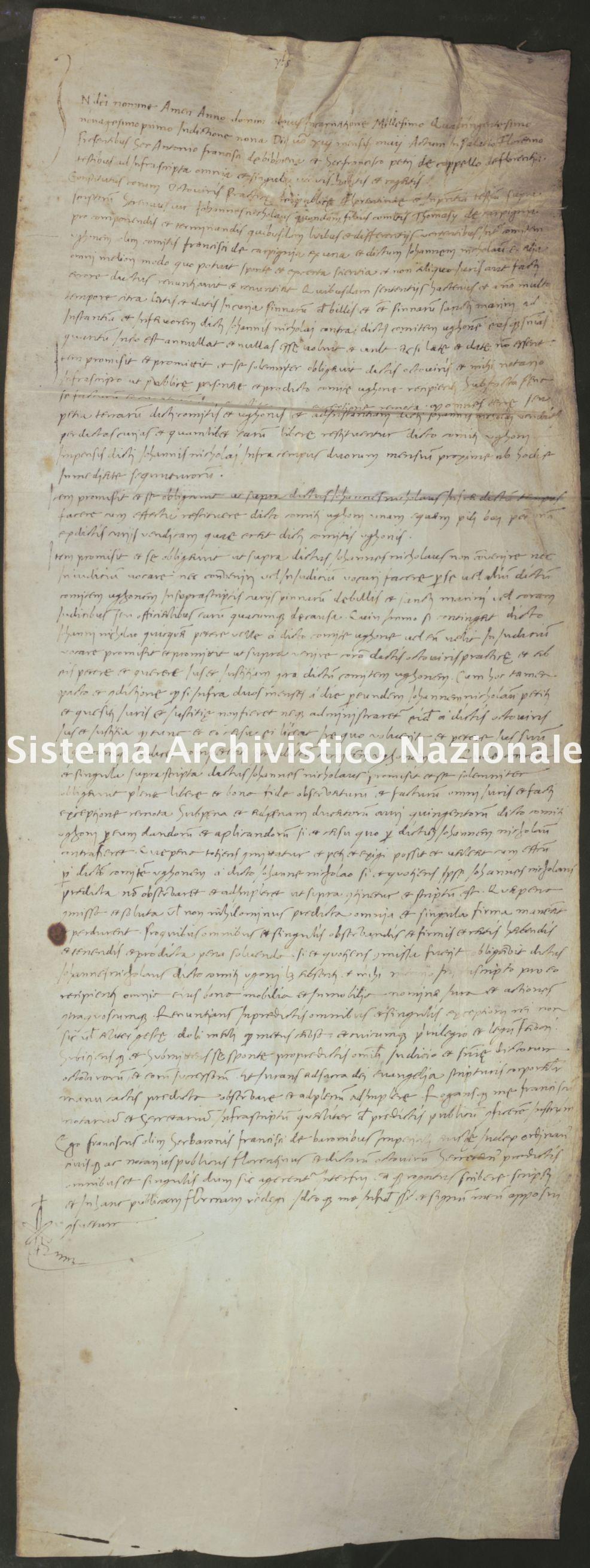 041. Carpegna Falconieri Gabrielli, Scavolino, pergamena n. 41r