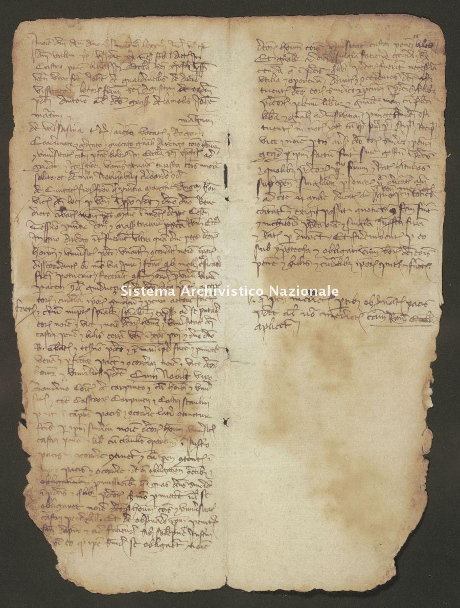 013. Carpegna Falconieri Gabrielli, pergamene, n.13,01
