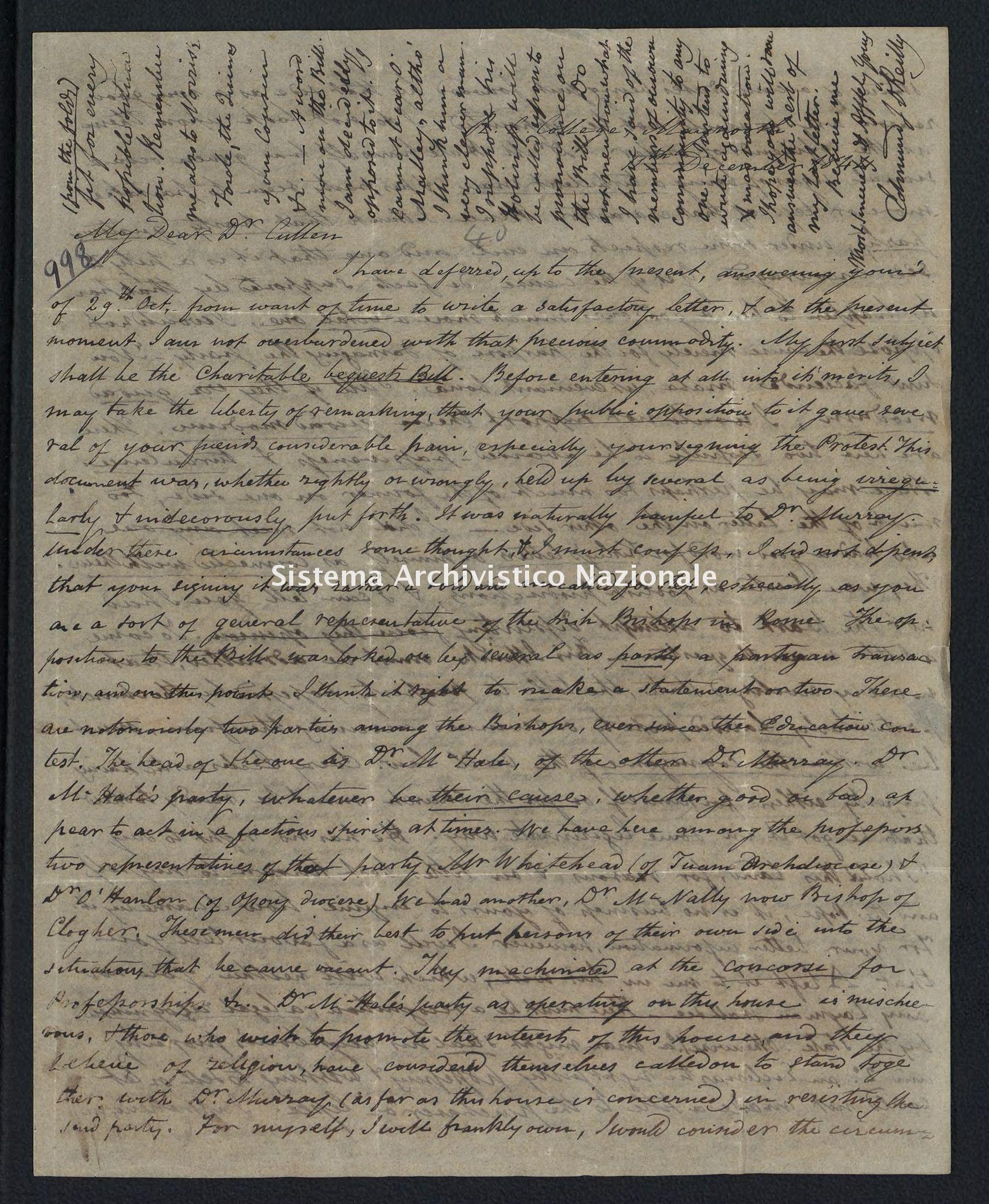 Pontificio Collegio Irlandese - Cullen_1844_998