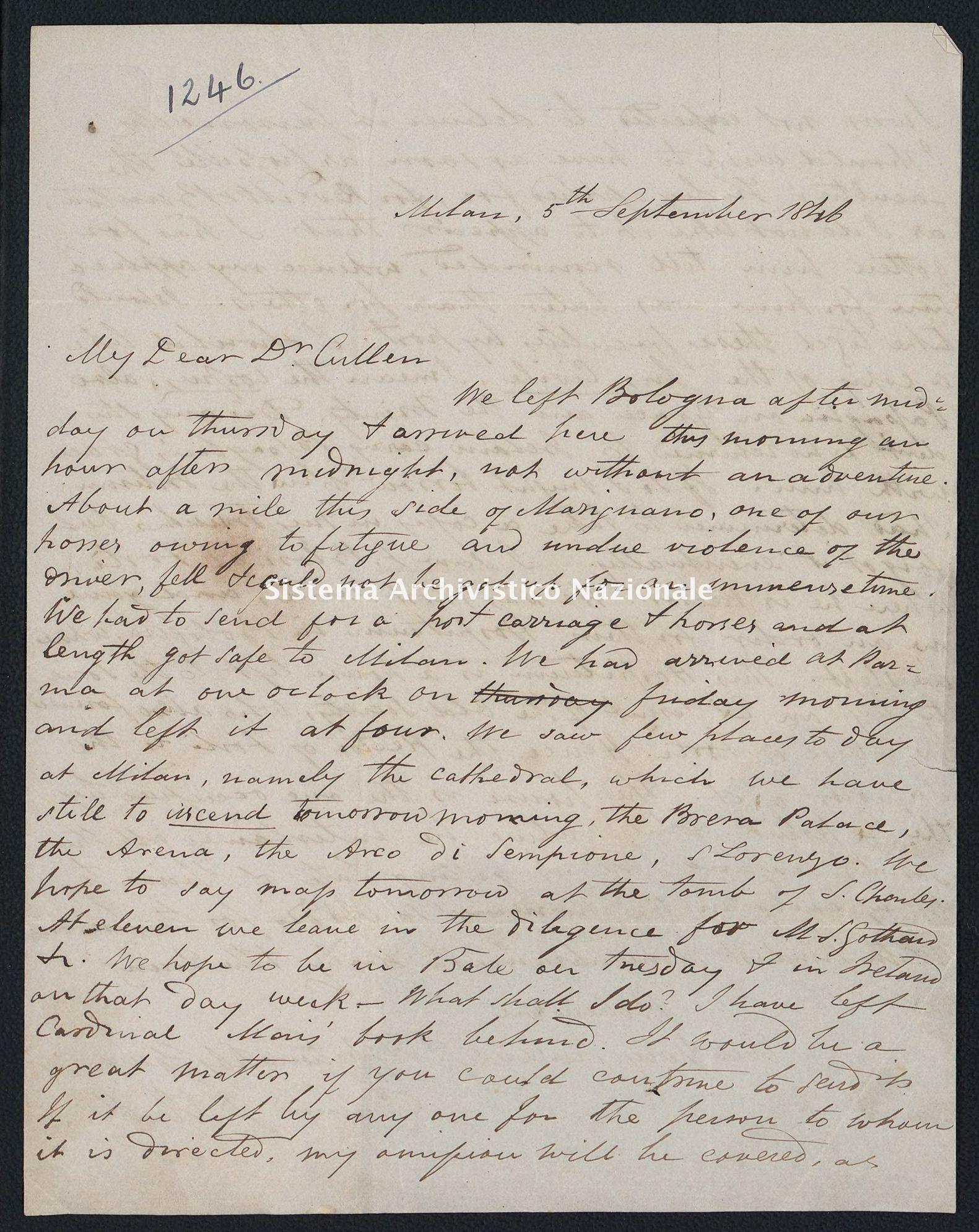 Pontificio Collegio Irlandese - Cullen_1846_1246