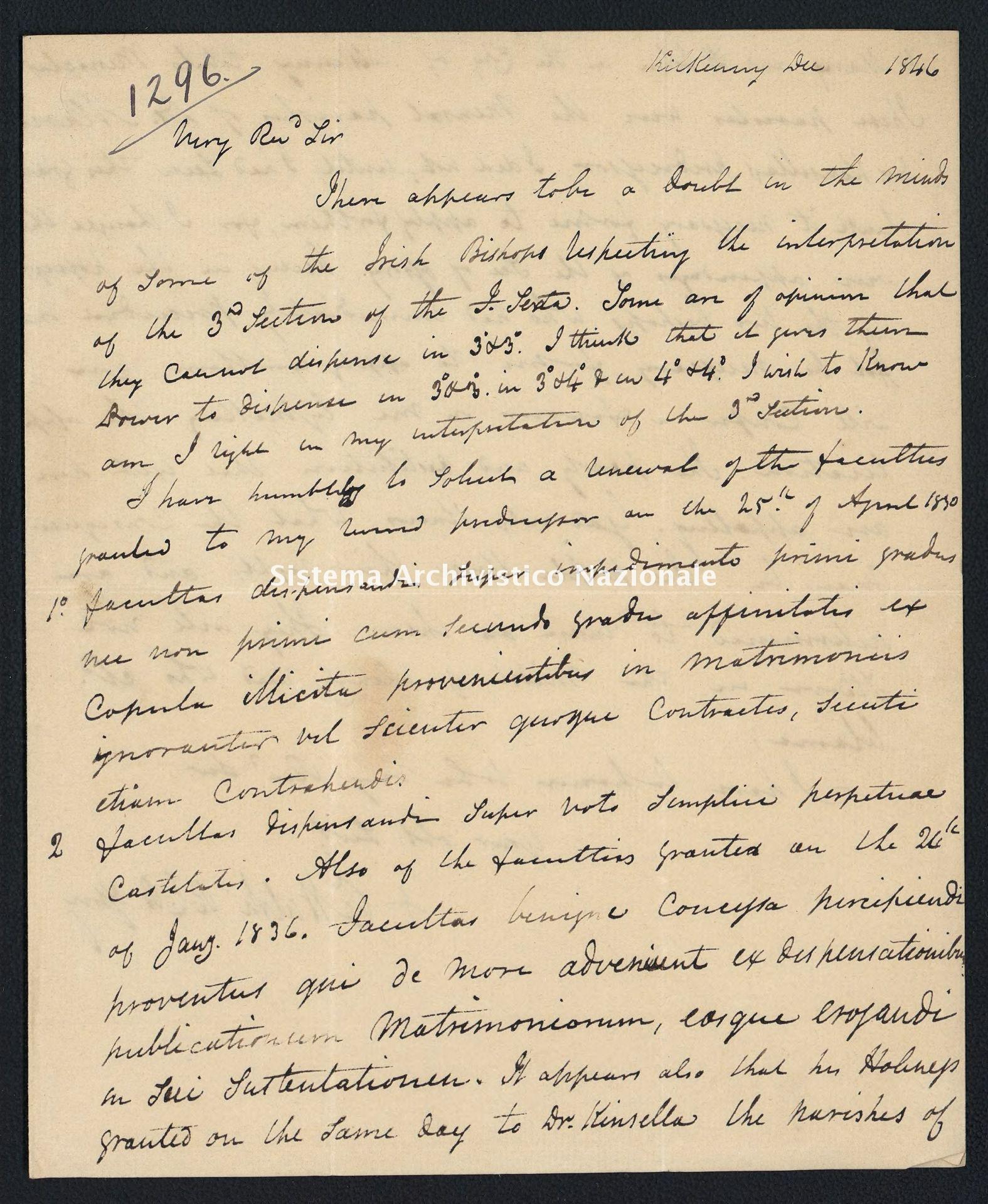 Pontificio Collegio Irlandese - Cullen_1846_1296
