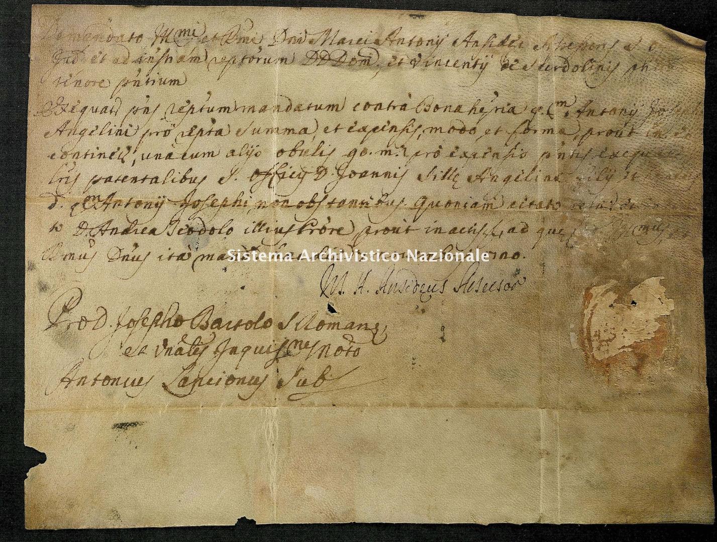 Comune preunitario di Monteleone di Spoleto, Monteleone di Spoleto (Perugia), Diplomatico, 1