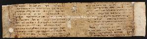 D.02.002, Archivio di Stato di Bologna, Frammenti di manoscritti, Frammenti di manoscritti ebraici, Frammento n. 330.2, recto