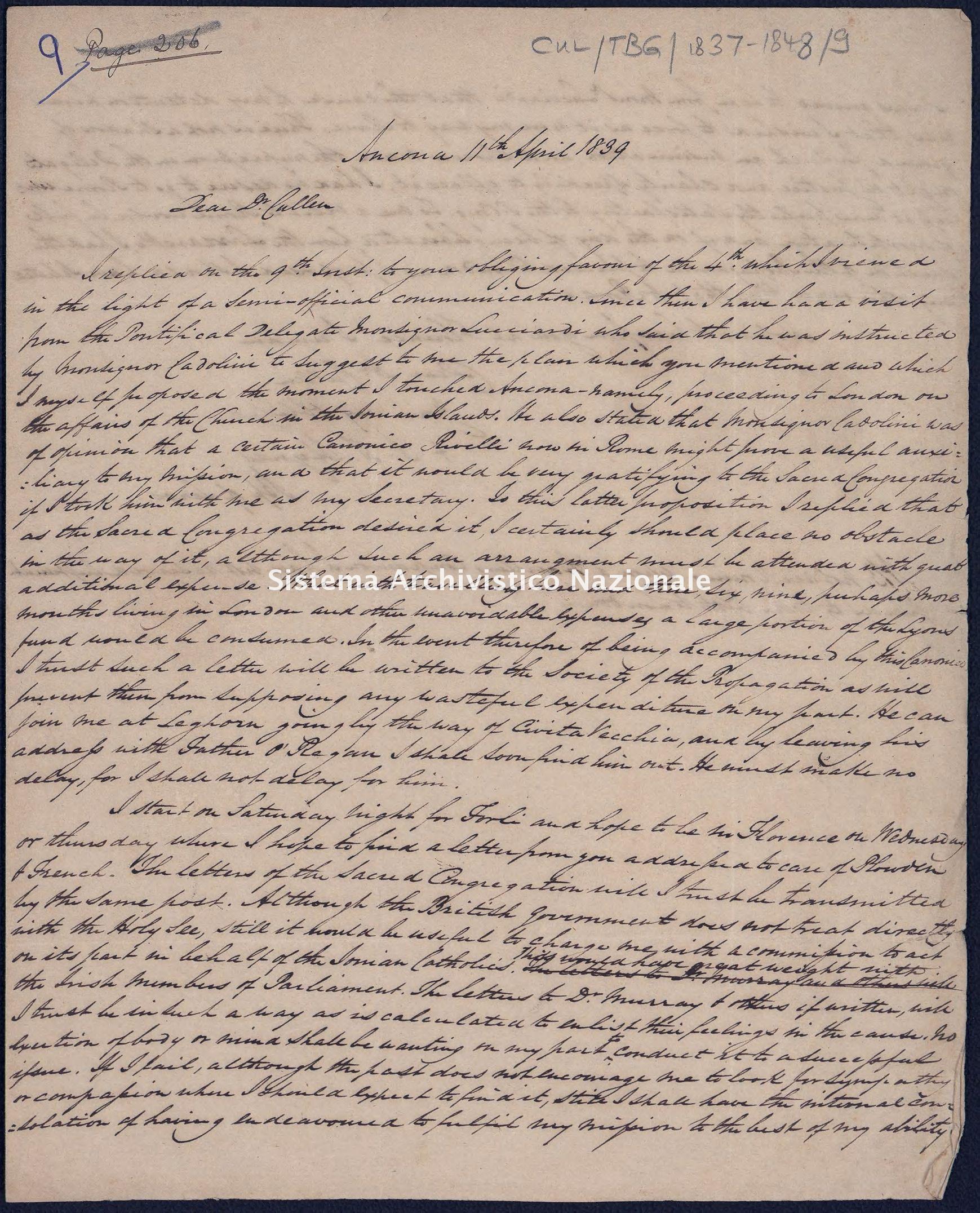 Pontificio Collegio Irlandese - Cullen_TBG_1839_9