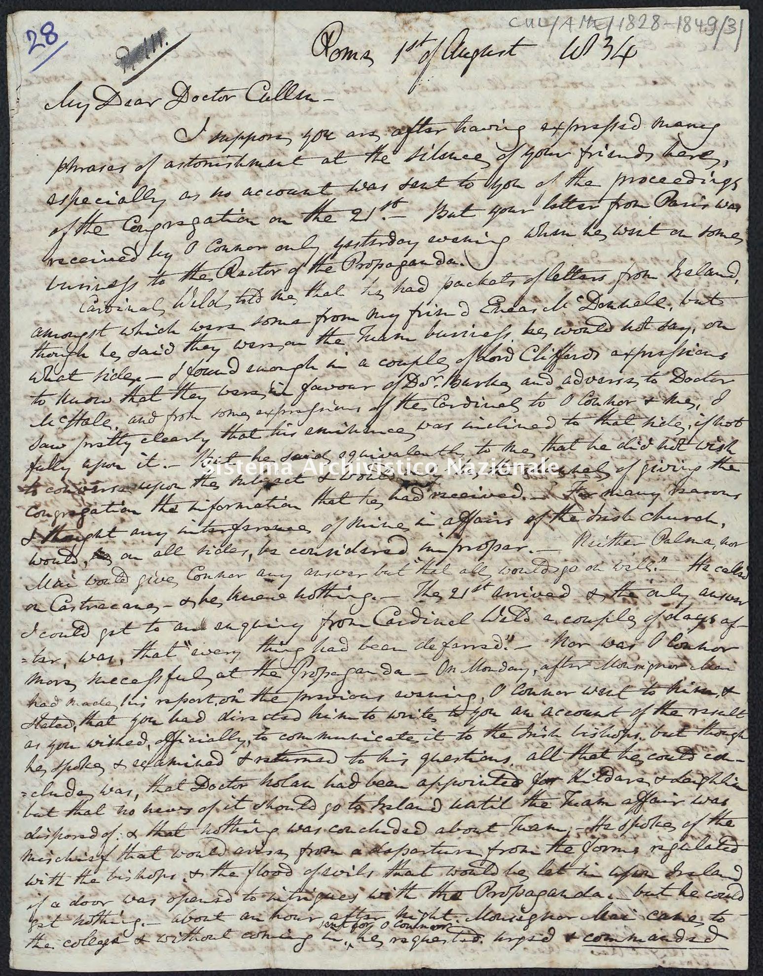 Pontificio Collegio Irlandese - Cullen_AME_1834_31