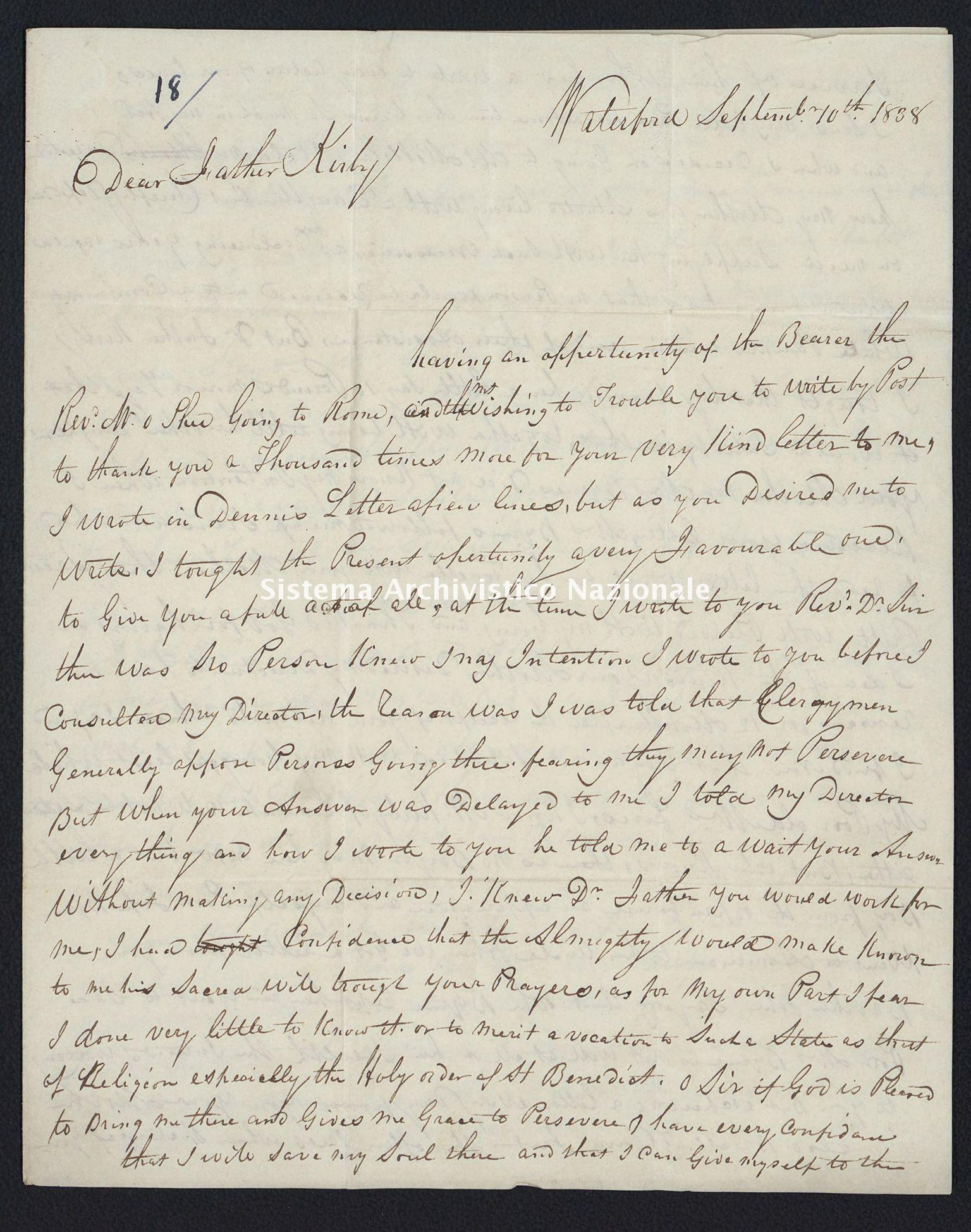 Pontificio Collegio Irlandese - Kirby_1838_18