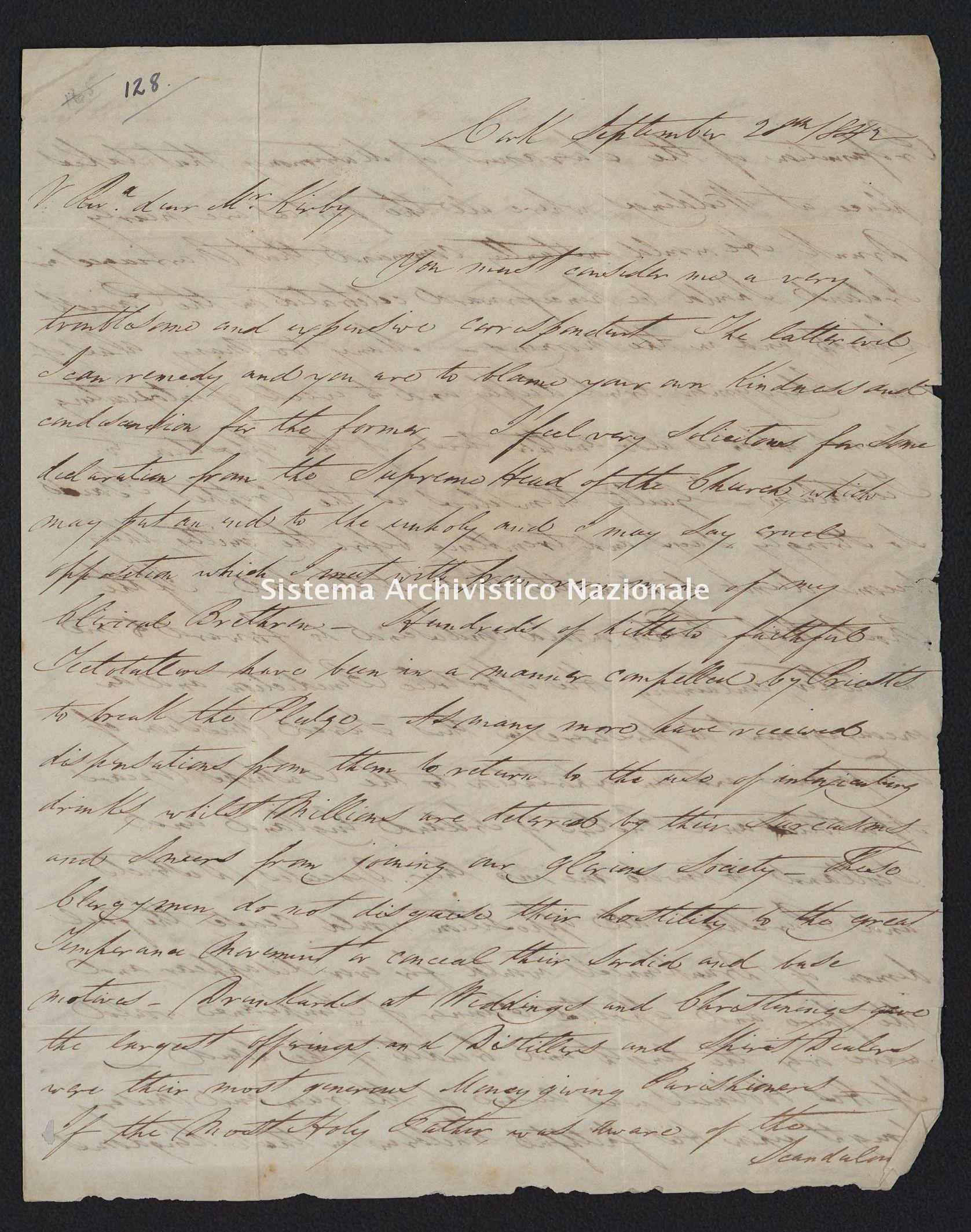 Pontificio Collegio Irlandese - Kirby_1842_128