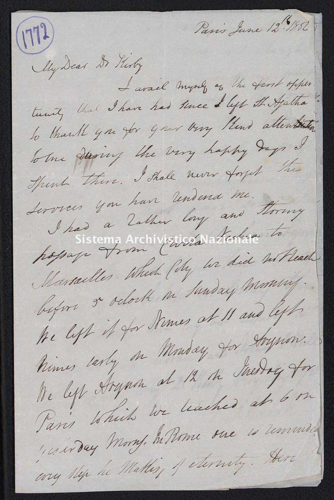 Pontificio Collegio Irlandese - Kirby_1856_1772