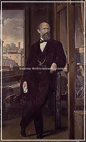 Alessandro Rossi, ritratto, 1850 ca