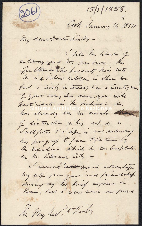 Pontificio Collegio Irlandese - Kirby_1858_2061