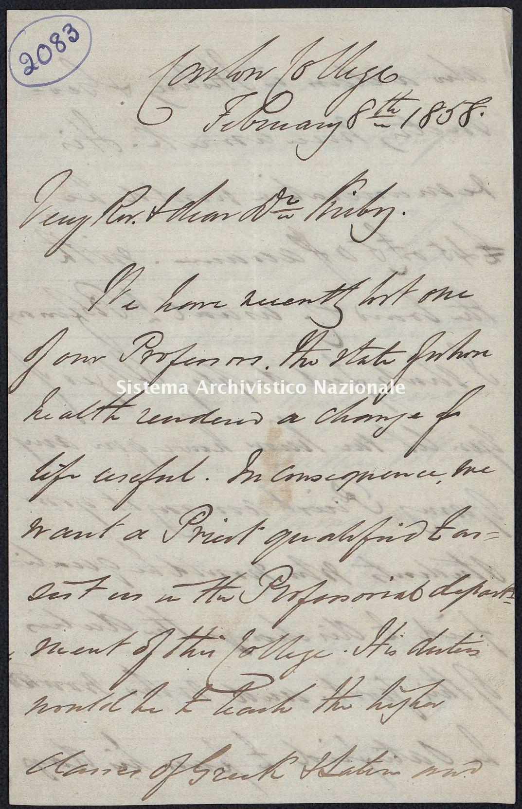 Pontificio Collegio Irlandese - Kirby_1858_2083
