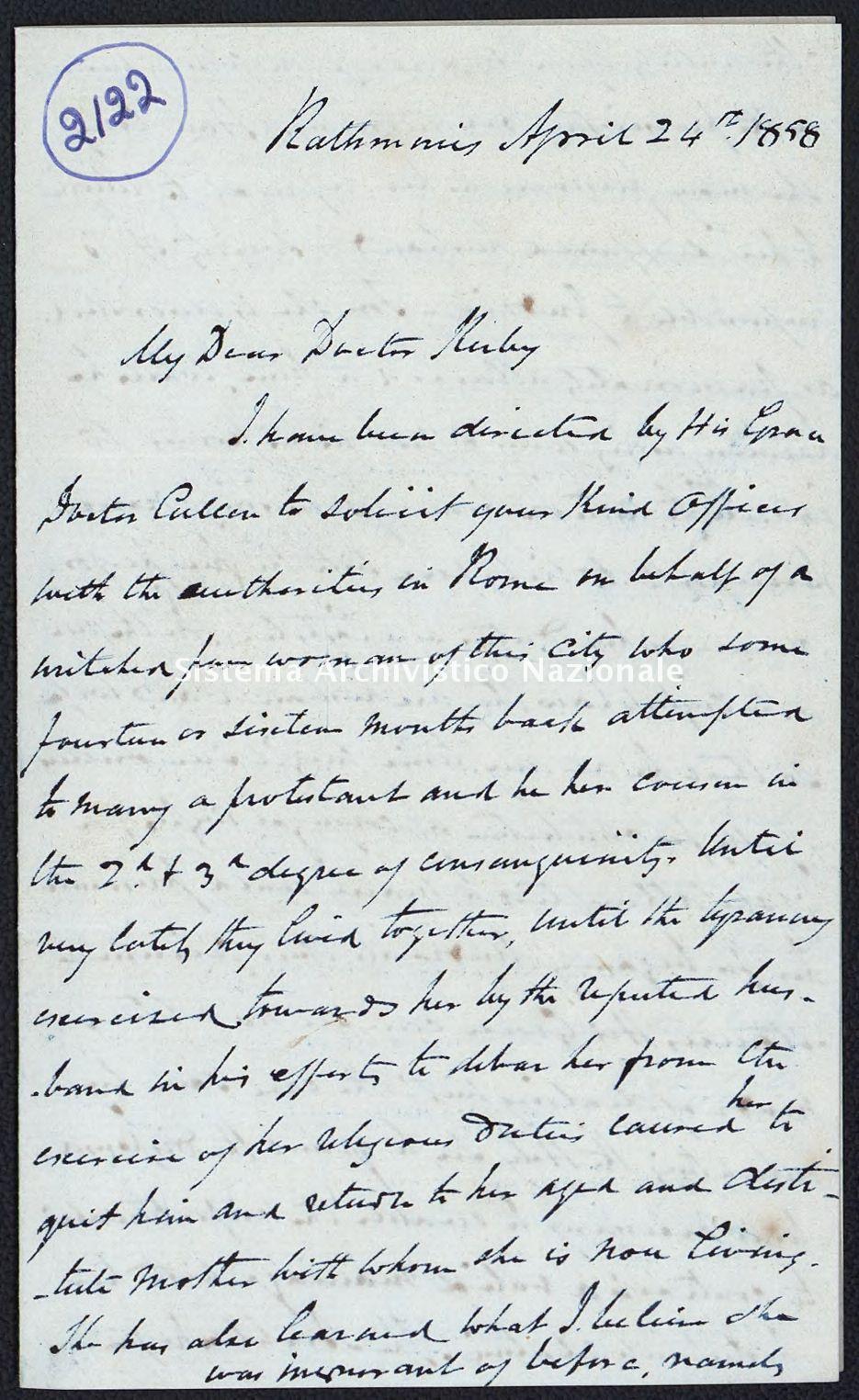 Pontificio Collegio Irlandese - Kirby_1858_2122