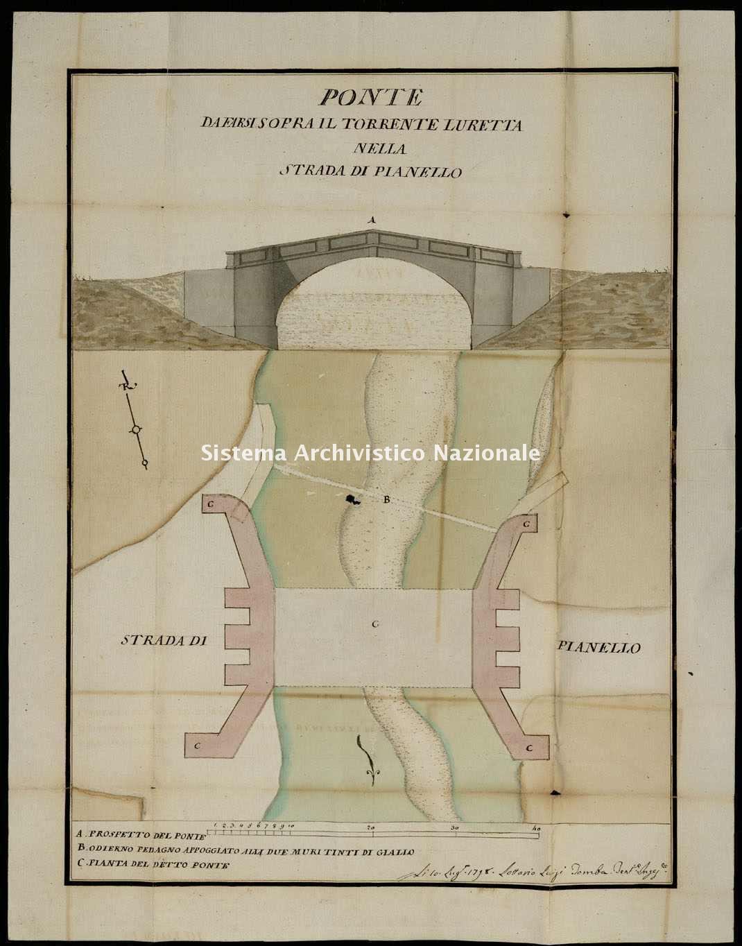 ASPc, Congregazione delle strade e dei ponti, b. 5, f. 1.