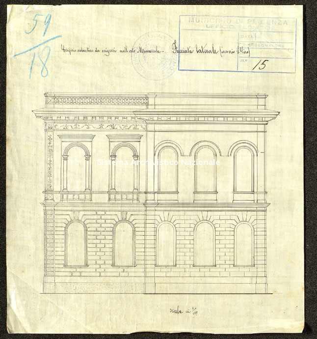ASPC, Mappe, stampe e disegni, n. 0038