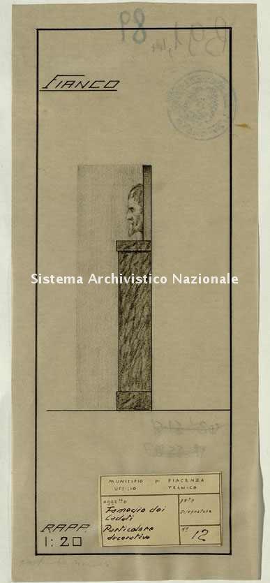 ASPC, Mappe, stampe e disegni, n. 0089