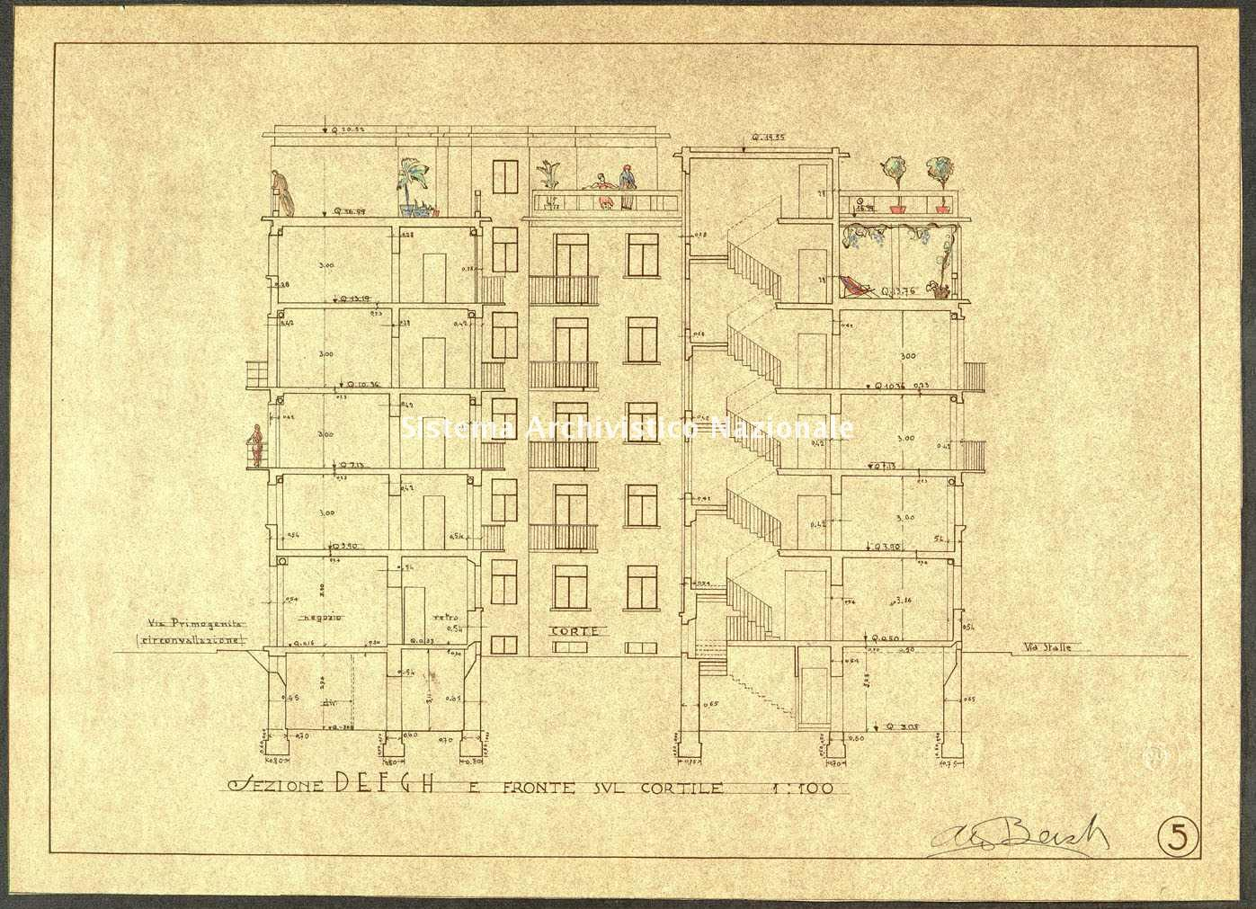 ASPC, Mappe, stampe e disegni, n. 1411