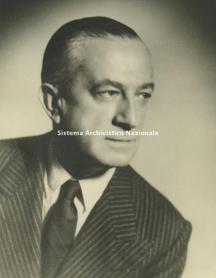 Enrico Piaggio, ritratto, 1955 ca