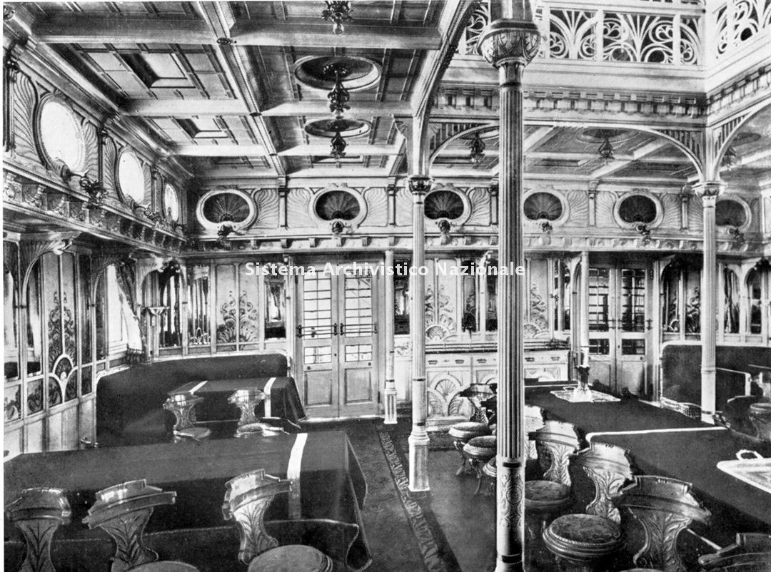 Piaggio & C. spa, piroscafo, 1900