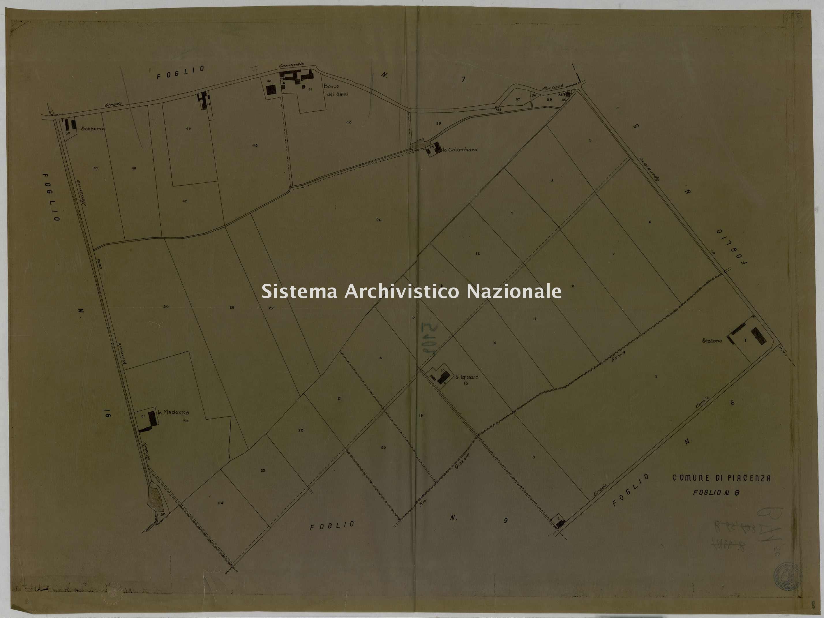 ASPC Mappe, stampe e disegni, n. 5102