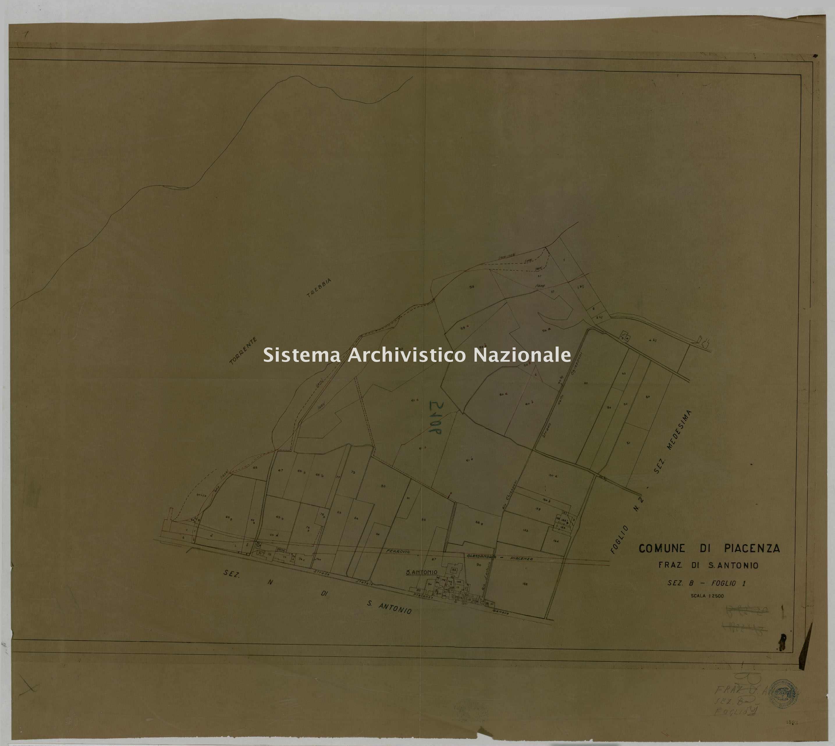 ASPC Mappe, stampe e disegni, n. 5106