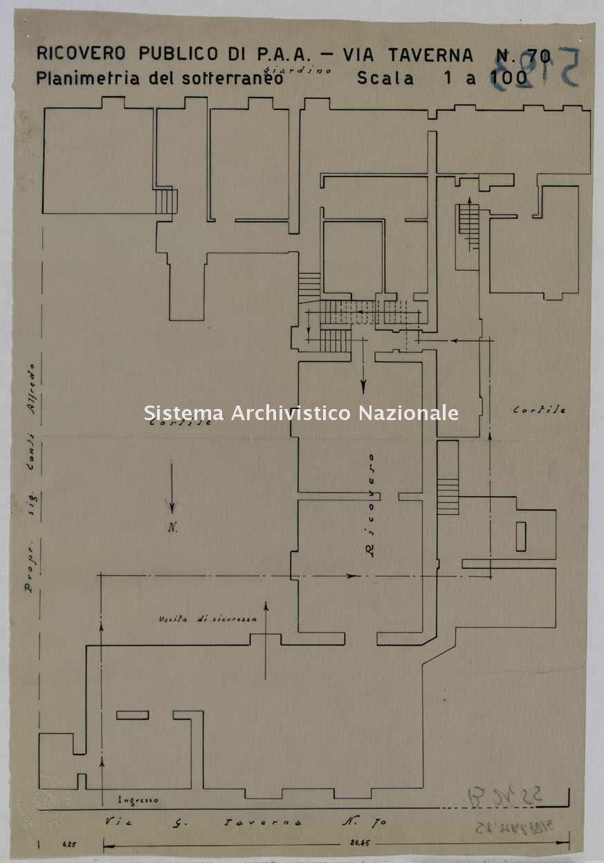 ASPC Mappe, stampe e disegni, n. 5123