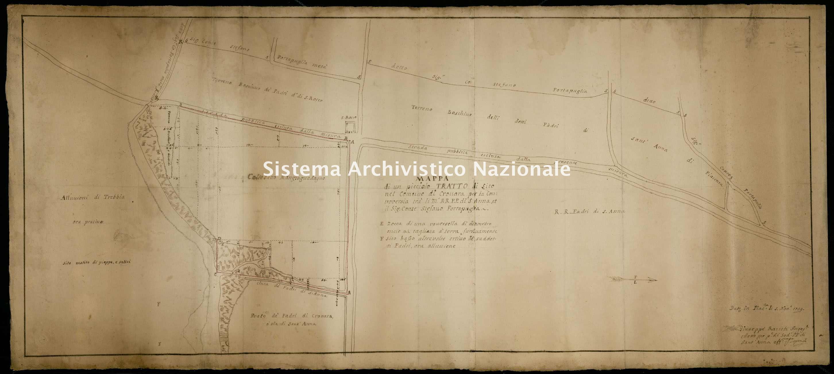 ASPC Mappe, stampe e disegni, n. 5124