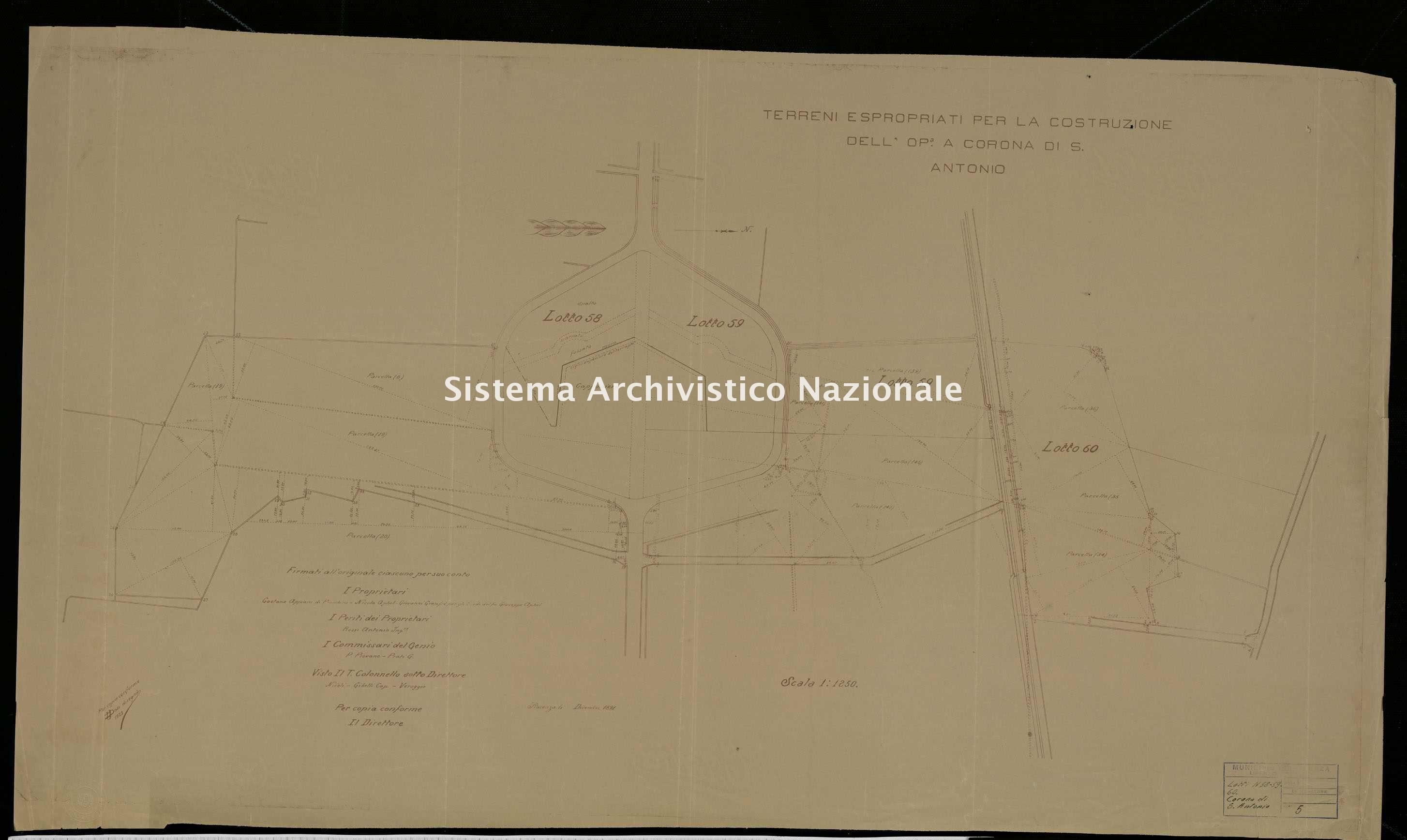 ASPC Mappe, stampe e disegni, n. 5130