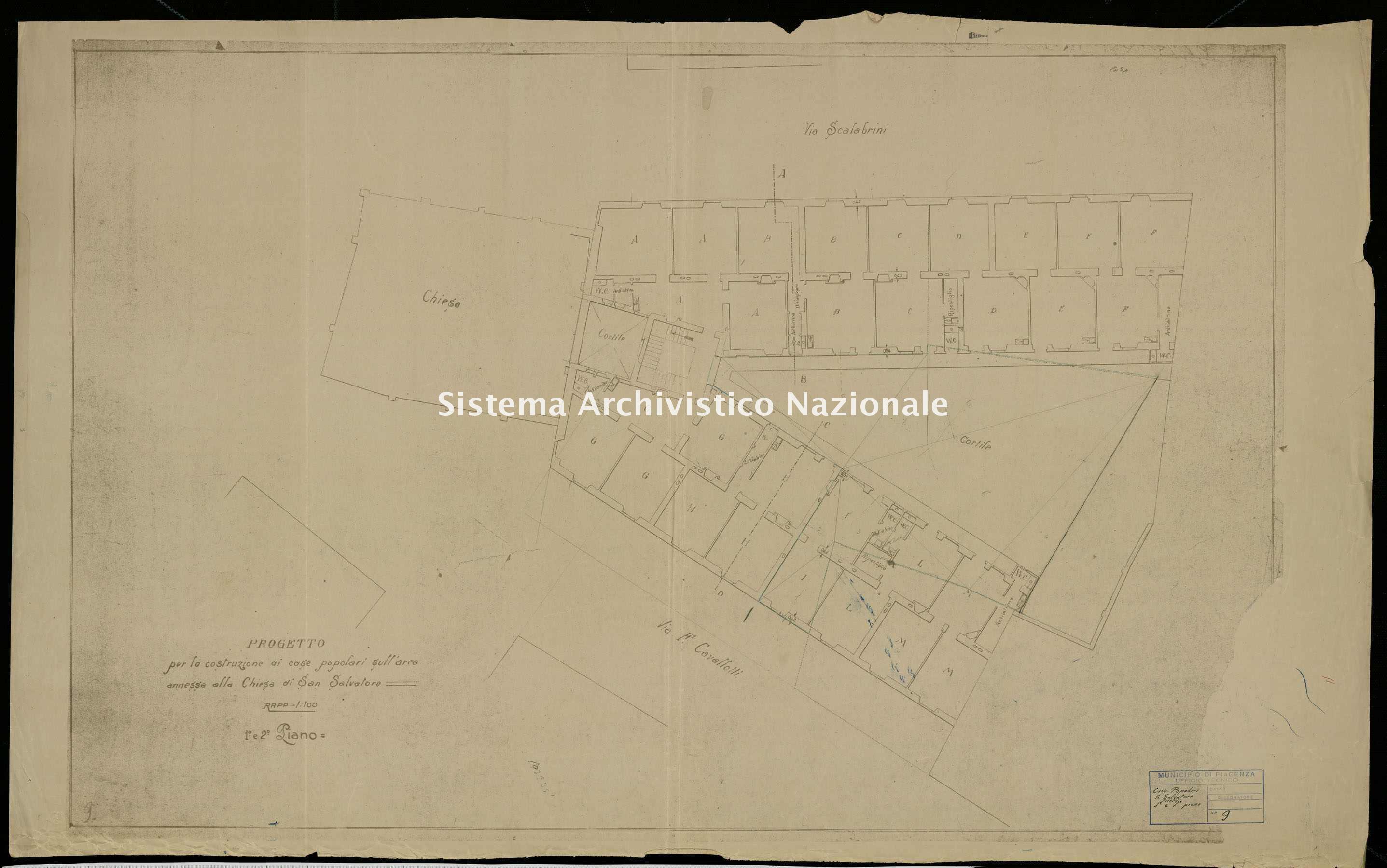 ASPC Mappe, stampe e disegni, n. 5136