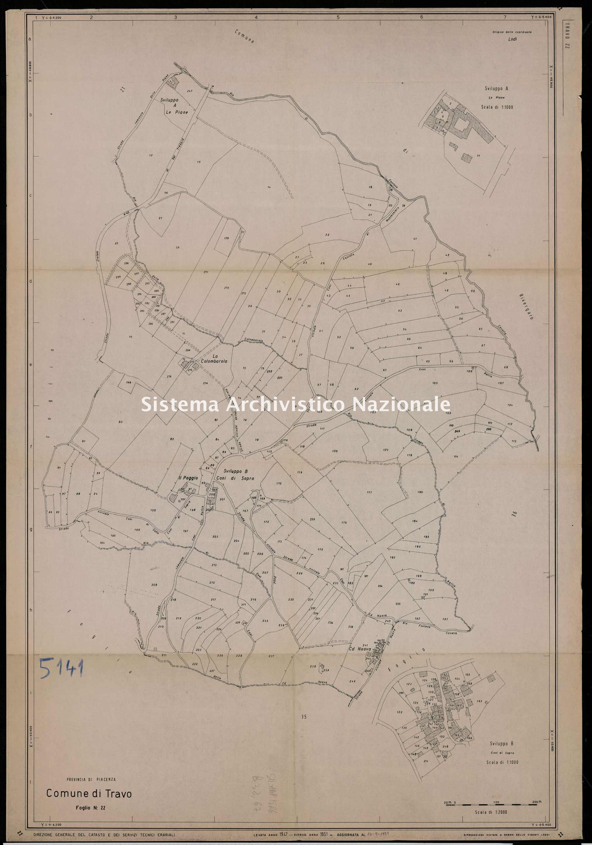 ASPC Mappe, stampe e disegni, n. 5141